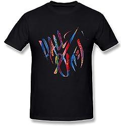 Daryl Hall John Oates Live Tour 2016 Logo T Shirt For Men Black