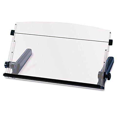 3M DH640 In-Line Freestanding Copyholder, Plastic, 300 Sheet Capacity, (3m Document Holder)