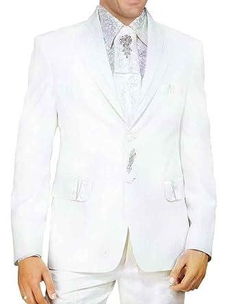 INMONARCH - tradicional funda blanco indio boda esmoquin traje ...