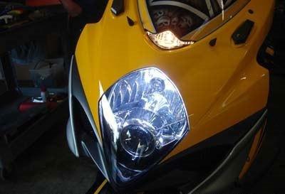 Blue Xenon Headlight Bulbs Hid Look Better Bright Vision Bmw R1100Rt H4 60/55 AutoPower