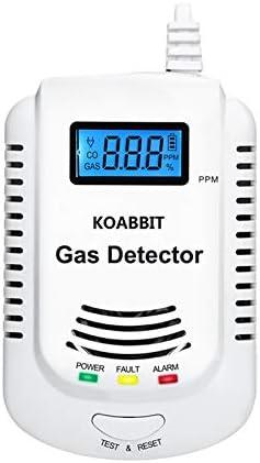 Portable Digital Carbon Monoxide Gas Detector Gas Tester Analyzer LCD UA6070 BVC