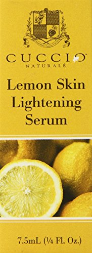 Cuccio Lemon Skin Lightening Serum, 0.2 Ounce (Lemon Skin Lightening Serum)