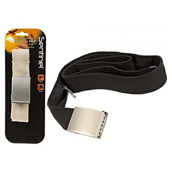 865315026ed PMS SENTINEL SECURITY MONEY BELT BLACK CREAM. HANGING CARD  Amazon.co.uk   Sports   Outdoors