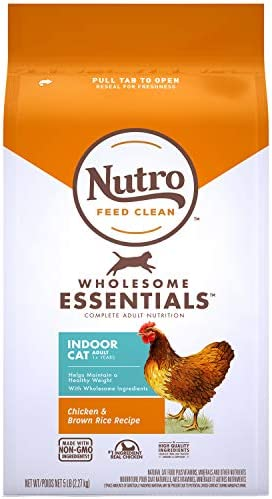 Nutro Wholesome Essentials Indoor and Sensitive Digestion Dry Cat Food, Chicken 2