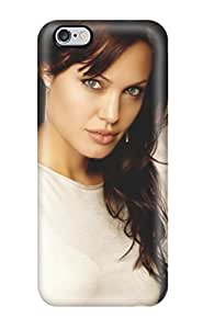 Tpu Shockproof/dirt-proof Angelina Jolie Cover Case For Iphone(6 Plus)