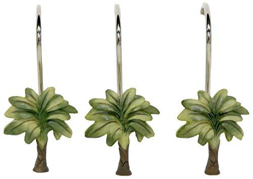 Bacova Guild Citrus Palm Shower Curtain Hooks