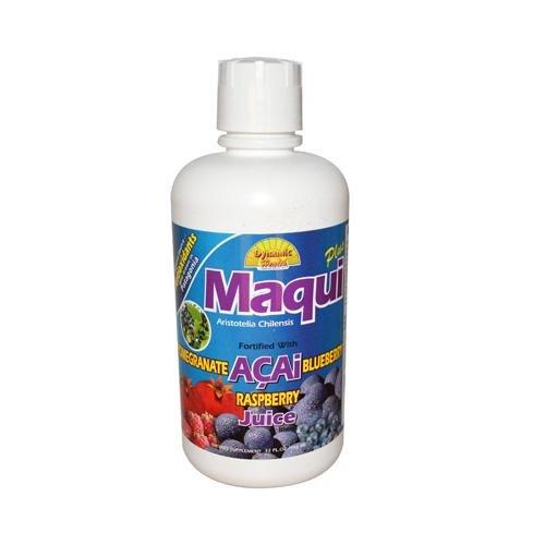 Maqui santé dynamique Plus de mélange de jus - 32 Fl Oz