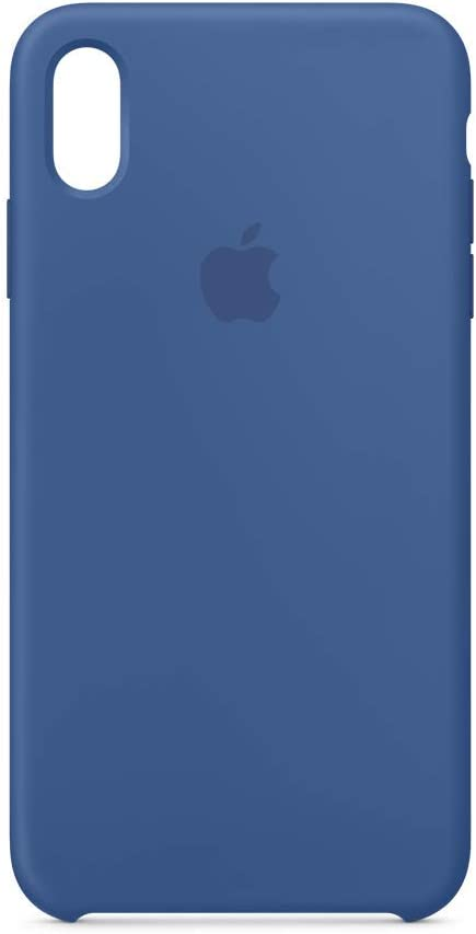 Apple Silicone Case (for iPhone Xs Max) - Delft Blue