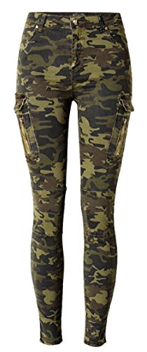 Allonly Camouflage Fashion Stretch Pockets product image