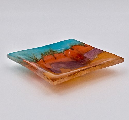 copper-metallic-accent-art-glass-decorative-bowl-in-southwestern-colors