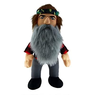 "Duck Dynasty Phil 13"" Plush Character with Sound: Toys & Games"