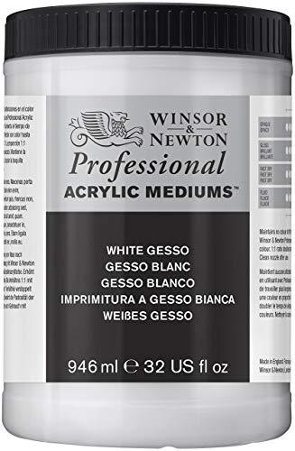 Winsor & Newton Professional Acrylic Medium White Gesso, 946ml