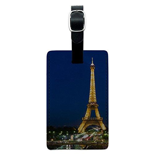 Paris Leather Luggage Suitcase Carry