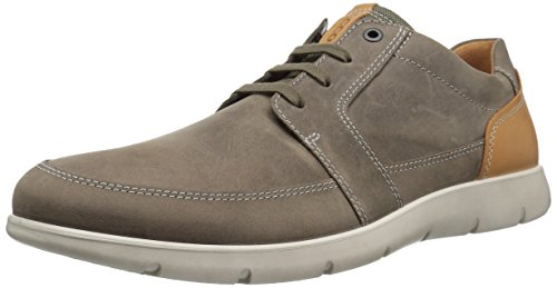 ECCO Men's Iowa Tie Fashion Sneaker,Stone,42 EU/8-8.5 US