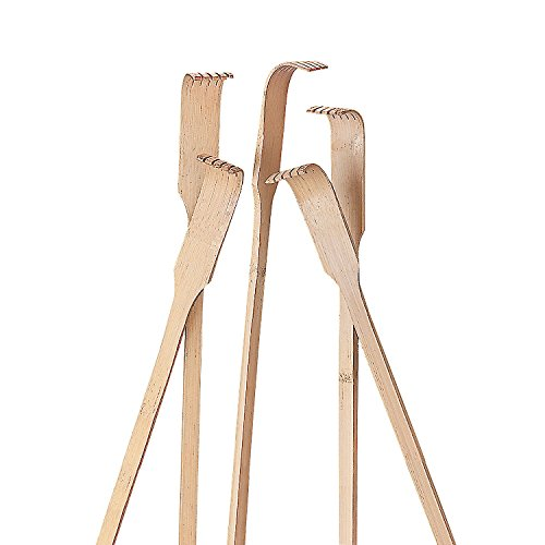 Fun Express - Wooden Back Scratchers - Toys - Active Play - Gags & Magic - 12 Pieces ()