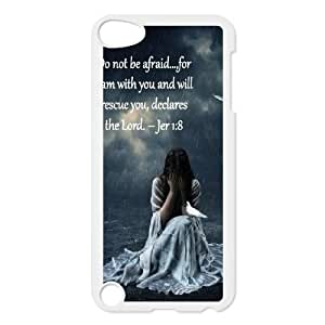 Do not be afraid DIY Phone Case for Ipod Touch 5,Do not be afraid custom phone case series 7