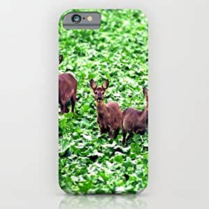 Society6 - Deers In The Field. iPhone 6 Case by Zenitt
