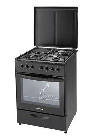 tout neuf dc6c5 82448 Rosières RCM 6972 PN Cuisinière Mixte Gaz et Electrique Largeur : 60 cm  Classe: A Perle Noire