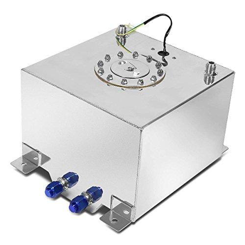 DNA Motoring ALU-FT-B-TF-12G Aluminum Top-Feed Fuel Cell Gas Tank