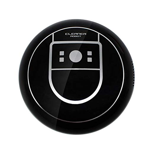 Zippem Strong Suction, Super Quiet, Robotic Vacuum Cleaner, Cleans Hard Floors to Medium-Pile Carpets (Black,White)