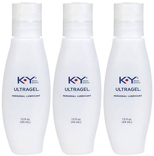 K-Y UltraGel Personal Water Based Lubricant, 1.5 Ounce (Pack of 3) (Best Personal Lubricant Brands)