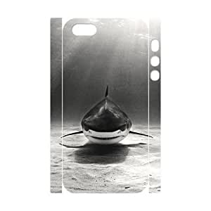 ALICASE Diy Customized Case Deep Sea Shark 3D Case for iPhone 5,5S [Pattern-6]