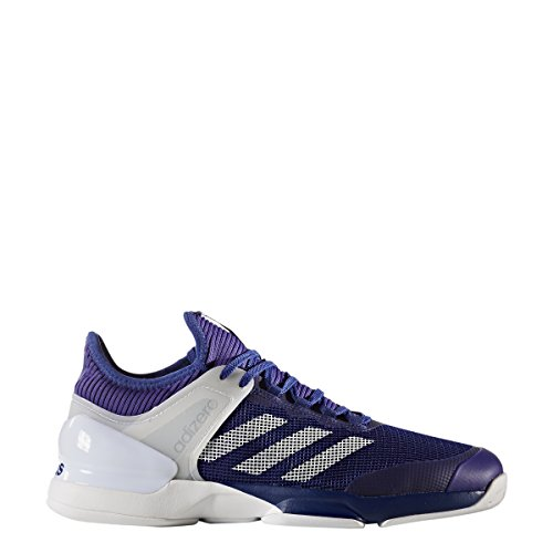 adidas Men's Adizero Ubersonic 2 Tennis Shoes Mystery Ink/White/Energy Ink (9 M US)