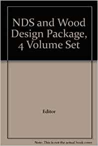 Nds And Wood Design Package 4 Volume Set Editor Amazon