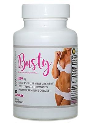 Busty | Breast Enhancement Pills | Breast Enlargement | Breast Enhancer