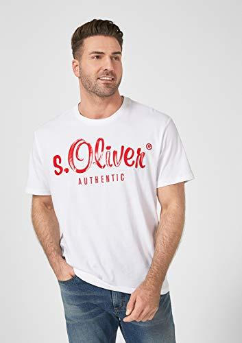 0100 blanc oliver Homme Size S shirt Blanc Big Tee Pqwq8xSp