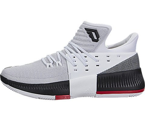 adidas Mens Dame 3 Basketball Shoe