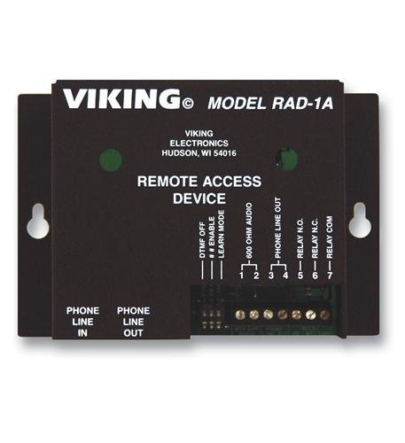 Viking Rad-1a Remote Access - 1a Viking Remote Rad