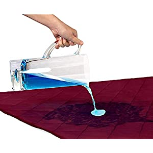 Cloth Fusion Patron 2nd Gen Waterproof Cotton Mattress Protector (55×39, Maroon)