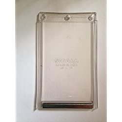 5 in. x 7 in. Small Replacement Flap For Plastic Frame Old Style Does Not Have Rivets On Bottom Bar