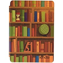 Kindle Printed Cover - Library (10th Gen - 2019 release only—will not fit Kindle Paperwhite or Kindle Oasis).