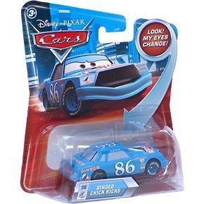 Disney / Pixar CARS Movie 155 Die Cast Car with Lenticular Eyes Series 2 Dinoco Chick Hicks