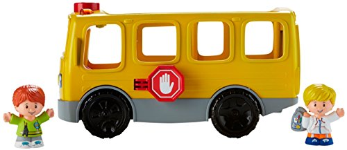 41DDnJv2dAL - Fisher-Price Little People Sit with Me School Bus Vehicle