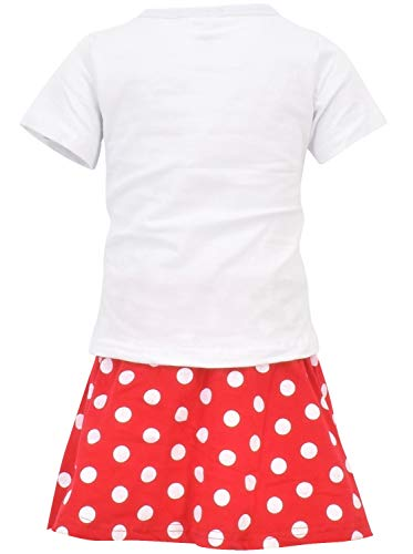 Unique Baby Girls Back to School Apple Skirt Boutique Outfit (5T/L, Red) by Unique Baby (Image #2)