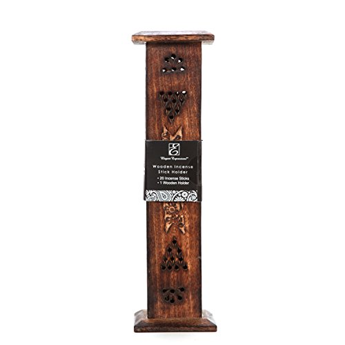 Hosley Wood Incense Tower with 20 Incense Sticks - 12