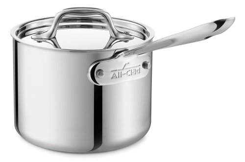 All-Clad PROMO 5202 Stainless Steel 3-Ply Bonded Dishwasher Safe Sauce Pan