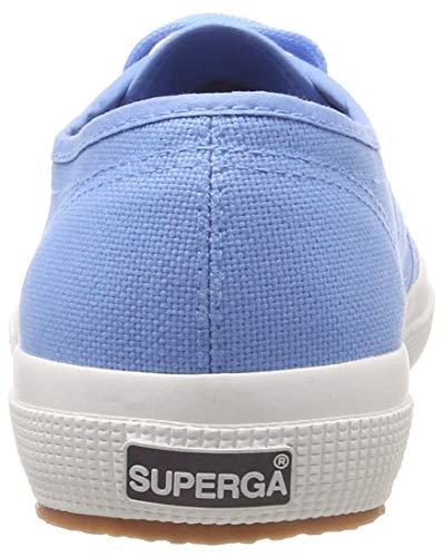 Azure da 00t Unisex Blu Classic Superga Scarpe Blue 2750 Cotu Ginnastica Adulto qnAIwZfxz