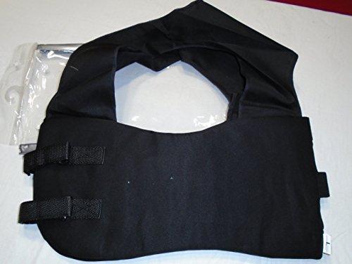 Auto Racing Body Protectors, Go Kart Rib Vest light weight Football Rib Vest (L, Black) ()