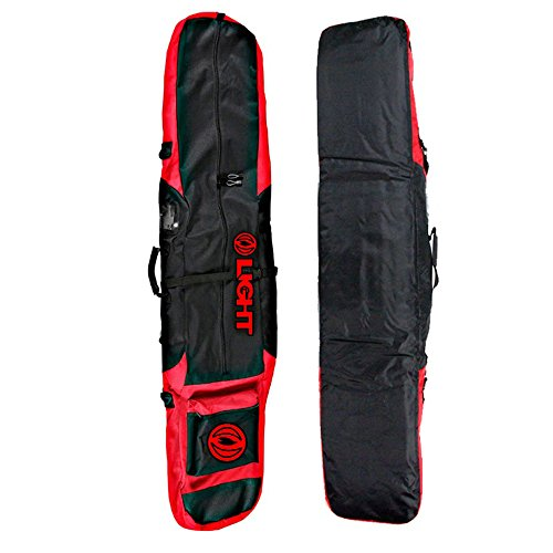 Red Snowboard Bag - Light Snowboard Bag Boots Binding Carry Should Strap Bag Black Red 172cm