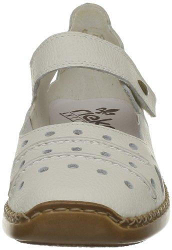Bianco 41391 Doris Rieker sportweiss Donna Ballerine 80 weiß zxvIIqw5C