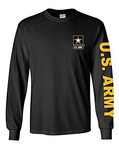 U.S. Army long sleeve T-shirt. Black -