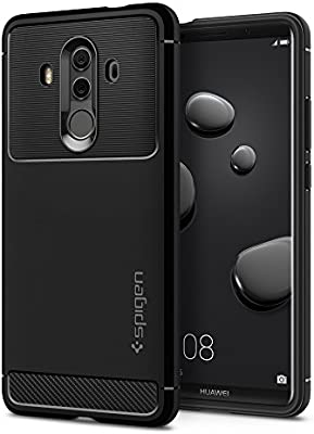 pretty nice d9cd5 67441 Spigen Huawei Mate 10 PRO Rugged Armor cover/case - Black: Amazon ...
