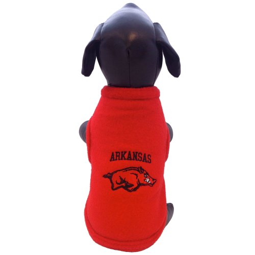 NCAA Arkansas Razorbacks Polar Fleece Dog Sweatshirt, XX-Large