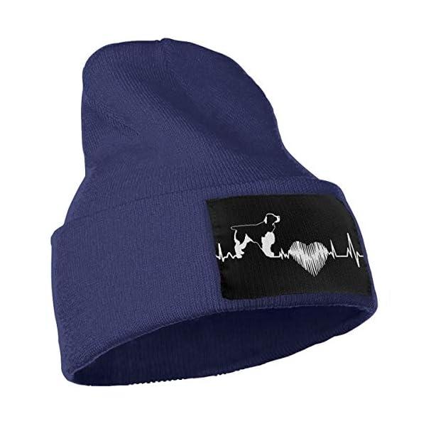 Cgi04T-5 Fashion Knit Cap for Mens and Womens, 100% Acrylic Acid English Springer Spaniel Ski Cap 3