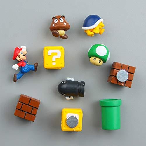 Super Mario Bros Brothers 3d imán creativo magnético pasta ...
