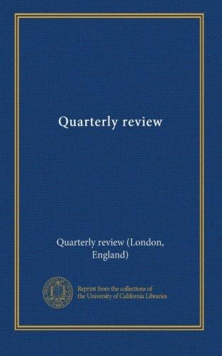 Read Online Quarterly review (v. 81 1847) pdf